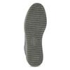 Kotníčková dámská kožená zimní obuv bata, šedá, 596-2713 - 18