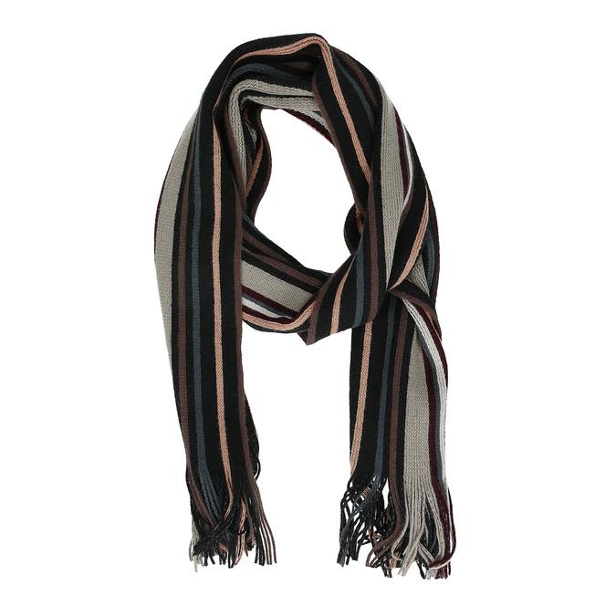 Pánská pruhovaná šála bata, vícebarevné, 909-0679 - 26