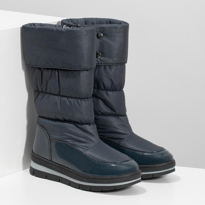 Dámské sněhule tmavě modré bata, modrá, 599-9622 - 26