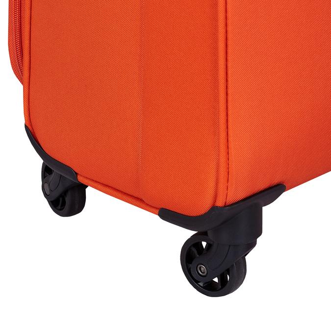 Oranžový textilní cestovní kufr american-tourister, oranžová, 969-8172 - 16
