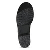 Kožené dámské kozačky s přezkou bata, černá, 594-6719 - 18