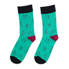 Unisex ponožky s vánočními motivy bata, zelená, 919-7775 - 26