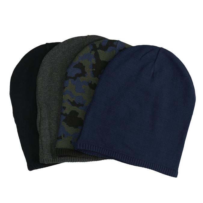 Pletená čepice bata, vícebarevné, 909-0487 - 13