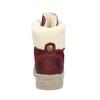 Kožená vínová dámská kotníčková obuv weinbrenner, červená, 596-5756 - 15