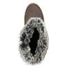 Dámské kožené sněhule hnědé weinbrenner, hnědá, 593-4603 - 17