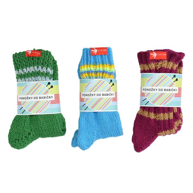 Ponožky od babičky L/XL bata, vícebarevné, 919-0755 - 13