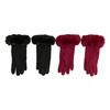 Dámské rukavice s kožíškem bata, vícebarevné, 909-0505 - 16
