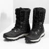 Dámské zimní prošívané sněhule bata, černá, 599-6623 - 16