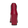 Červené kotníčkové kozačky v Chelsea stylu bata, červená, 794-5609 - 15