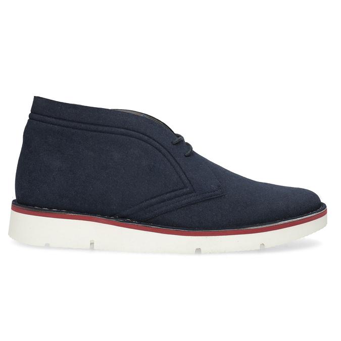Modrá pánská ležérní kotníčková obuv bata-b-flex, modrá, 899-9600 - 19