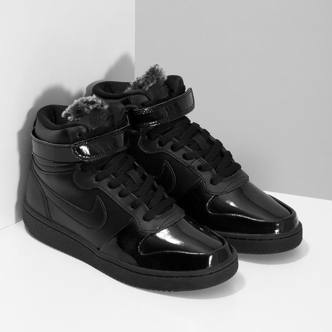 Černé dámské kotníčkové tenisky nike, černá, 501-6944 - 26