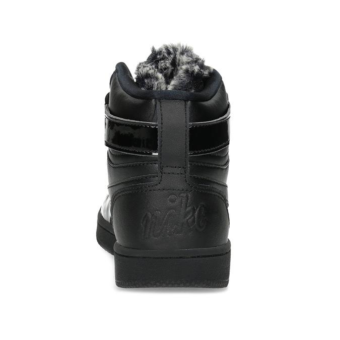 Černé dámské kotníčkové tenisky nike, černá, 501-6944 - 15
