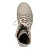 Béžová kožená dámská obuv vysoká weinbrenner, béžová, 596-8746 - 17