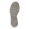 Kožená dámská vysoká obuv weinbrenner, šedá, 596-2746 - 18