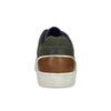 Kožené khaki pánské tenisky bata, zelená, 846-7735 - 15
