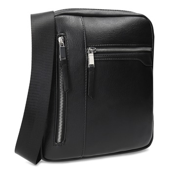 Černá pánská Crossbody taška bata, černá, 961-6966 - 13