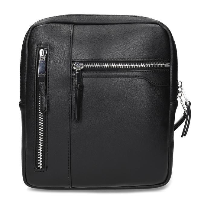 Černá pánská Crossbody taška bata, černá, 961-6966 - 26