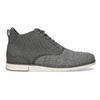 Šedá pánská kotníčková obuv bata-red-label, šedá, 821-2607 - 19