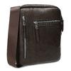 Pánská hnědá Crossbody taška se zipy bata, hnědá, 961-4966 - 13