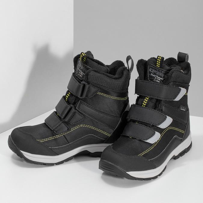 Dětská černá zimní obuv na suché zipy icepeak, černá, 399-6019 - 16