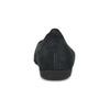 Černé perforované baleríny z broušené kůže gabor, černá, 516-6621 - 15