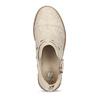 Dívčí kotníčková obuv béžová mini-b, zlatá, 321-8248 - 17