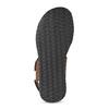 Pánské kožené hnědé Ombré sandály bata, hnědá, 866-4633 - 18