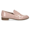 Dámské starorůžové mokasíny lakované bata, růžová, 511-5616 - 19