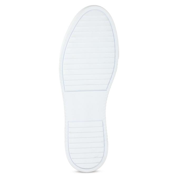 Kožené hnědé tenisky pánské bata, hnědá, 846-3649 - 18
