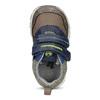 Dětské tenisky na suché zipy bubblegummers, hnědá, 111-4700 - 17