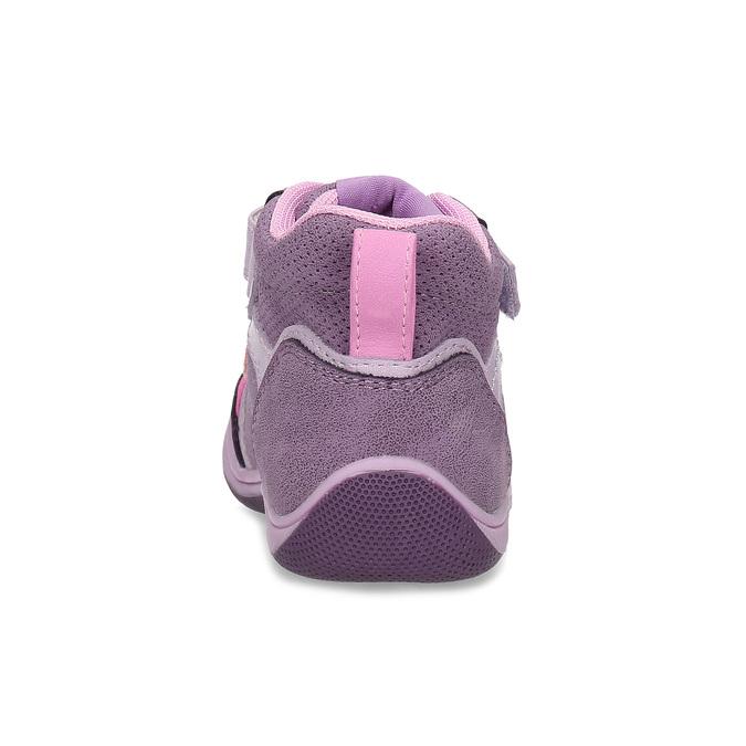 Růžové dětské kotníčkové tenisky bubble-breathe, fialová, 121-0702 - 15