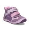 Růžové dětské kotníčkové tenisky bubble-breathe, fialová, 121-0702 - 13