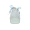 Kožené tenisky s mašlí modré bata, modrá, 543-9600 - 15