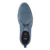 Pánské kožené Desert Boots modré bata, modrá, 823-9655 - 17