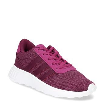 Dětské růžové tenisky ve sportovním stylu adidas, růžová, 309-5209 - 13