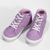 Kožené kotníčkové tenisky fialové richter, fialová, 123-5100 - 16