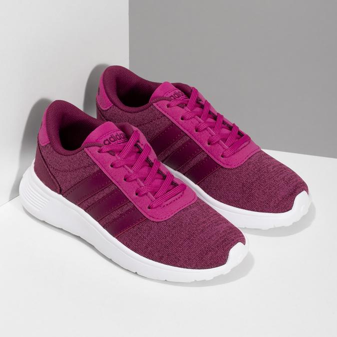 Dětské růžové tenisky ve sportovním stylu adidas, růžová, 309-5209 - 26