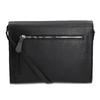 Kožená černá kabelka přes rameno bata, černá, 964-6710 - 16