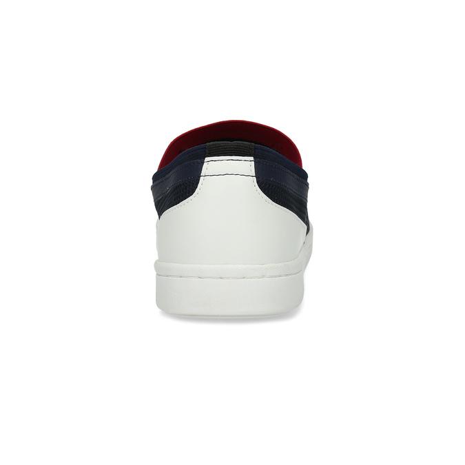 Slip-on pánské tenisky tmavě modré bata-red-label, modrá, 839-9604 - 15
