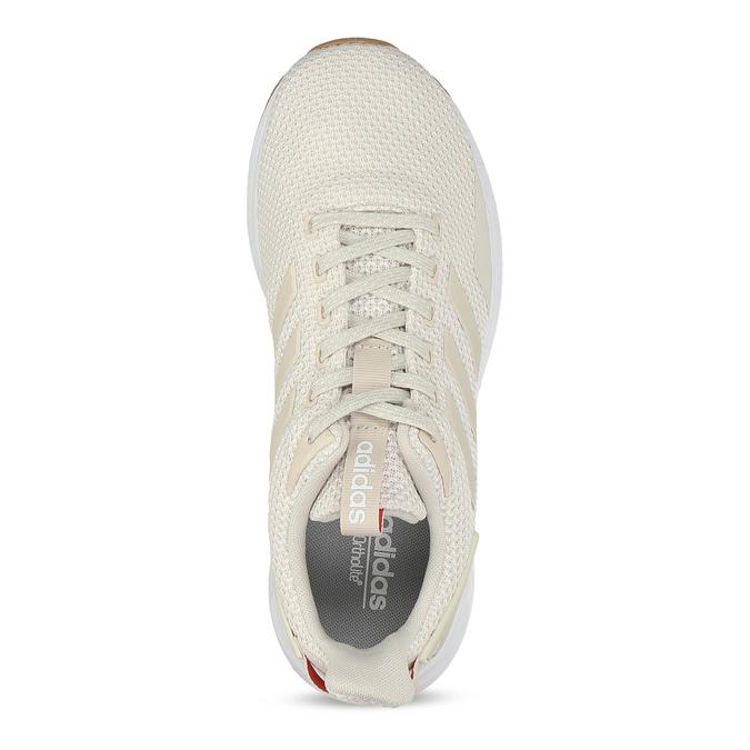 Krémové dámské tenisky s výraznou podešví adidas, béžová, 509-1129 - 17