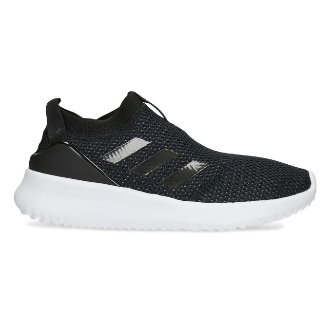 Dámské černé tenisky s výraznou podešví adidas, černá, 509-6129 - 19