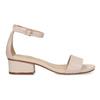 Tělové dámské sandály na nízkém podpatku insolia, růžová, 661-8620 - 19