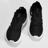 Dámské černé tenisky s výraznou podešví adidas, černá, 509-6129 - 16