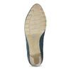 Tmavě modré dámské lodičky bata, modrá, 626-9652 - 18