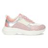 Dívčí dětské tenisky stříbrno-růžové mini-b, růžová, 321-5684 - 19