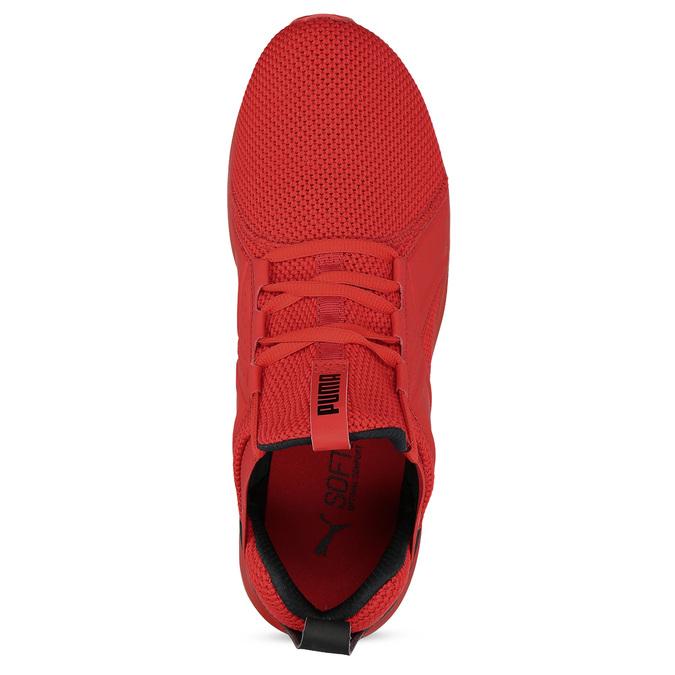 Červené pánské kotníčkové tenisky puma, červená, 809-5207 - 17