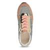 Dámské tenisky na flatformě bata, oranžová, 549-0603 - 17