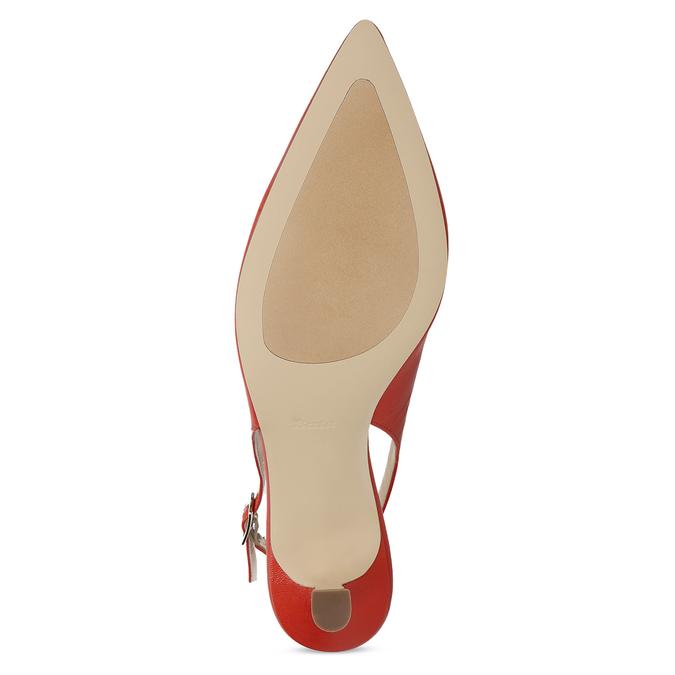 Červené lodičky do špičky bata, červená, 624-5655 - 18