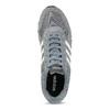 Pánské šedé tenisky kožené adidas, šedá, 803-2102 - 17