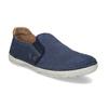 Pánské slip-on boty s perforací weinbrenner, modrá, 836-9687 - 13